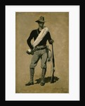 U.S. Soldier, Spanish-American War 1899 by Frederic Remington