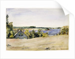 Gardiner's Bay from Sag Harbor, 1899 by George Wesley Bellows