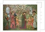 The Enchanted Garden of Messer Ansaldo, 1899 by Marie Spartali Stillman