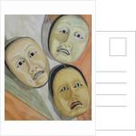 Oriental Masks by Carolyn Hubbard-Ford