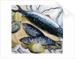 Mackerel with Oysters and Lemons, 1993 by Carolyn Hubbard-Ford