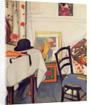 Interior with Japanese Fan, c.1915 by Samuel John Peploe