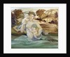 Mermaid with her Offspring by Edward Coley Burne-Jones
