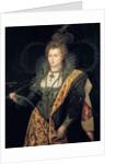 Elizabeth Ist, Queen of England in d'Astree's ballet costume or 'Rainbow Portrait' by George Peter Alexander Healy