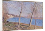 The Banks of the River at Veneux, 1881 by Alfred Sisley