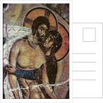 The Lamentation by Byzantine School