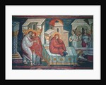 The Birth of the Virgin by Astrapas and Eutychios