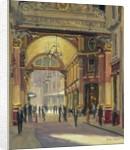 Leadenhall Market - the Crossroads by Julian Barrow