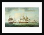 Merchant Vessels off the Coast, 1783 by Thomas Luny