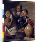 Tavern Scene, The Sense of Smell by Jan Miense Molenaer