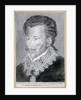 Portrait of Henri de Valois, Count of Angouleme, Grand Prior of France, Governor of Provence in 1579 by French School