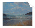 Northsands Salcombe, sailing, 2016 by Jennifer Wright