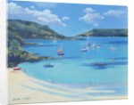 Sunny Cove, Salcombe, 2000 by Jennifer Wright