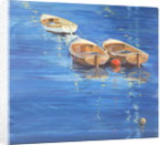 Moored Dinghies, 1998 by Jennifer Wright