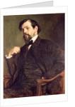 Portrait of Claude Debussy 1902 by Marcel Andre Baschet