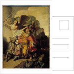The Ass of the Prophet Balaam, 1626 by Rembrandt Harmensz. van Rijn