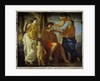 The inspiration of the poet Un poete by Nicolas Poussin