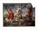 Venus Armant Enee by Nicolas Poussin