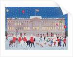 Buckingham Palace, London by Judy Joel
