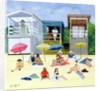 Beach Huts by Judy Joel