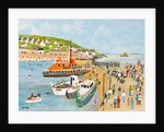 Blessing of the Lifeboat at Mousehole by Judy Joel