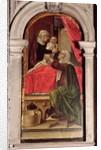Triptych of the Madonna of the Misericordia, 1473 by Bartolomeo Vivarini