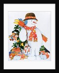 Snowman with Skis, 1998 by Christian Kaempf