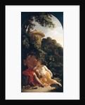 Shepherd and Shepherdess, 'The Amorous Shepherd',c. 1696 by Adriaan van der Werff