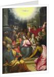 The Descent of the Holy Spirit, 1594-95 by Hans I or Johann Rottenhammer