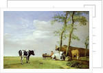 A Fellow Countryman with his Herd, 1648 by Paulus Potter