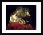 Jacob Blessing the Sons of Joseph, 1656 by Rembrandt Harmensz. van Rijn
