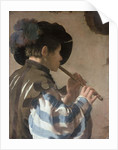 Knave Playing a Fife by Hendrick Ter Brugghen