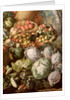 Detail of Still Life with Fruit, Vegetables and a Market Woman, 1564 by Joachim Beuckelaer or Bueckelaer