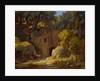 The Hermit, 1834 by Johann Martin von Rohden