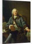 Dr. Schmidt-Capelle, c.1755-60 by Johann Heinrich Tischbein