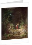 Lovers in a Wood, c.1860 by Carl Spitzweg