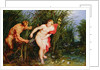 Pan and Syrinx by Peter Paul & Brueghel Jan Rubens