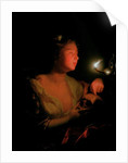Mary Magdalene Grieving by Godfried Schalcken