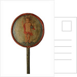 Processional Staff with painted decoration, Spain, c.1700 by Spanish School