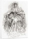 Miss Havisham. Illustration by Harry Furniss for the Charles Dickens novel Great Expectations by Anonymous