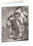 Love Laughs at Locksmiths, after Thomas Rowlandson by Anonymous