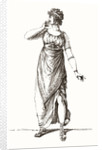 Madame Tallien in Grecian costume by Anonymous