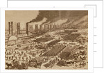 Commercial Activity and a View of the Quay at New Orleans in 1880 by Spanish School