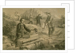 Californian Gold Prospecting in the 1860s by French School