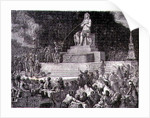 Celebrating the Acceptance of the Constitution, 10th August 1793 by H. de la Charlerie