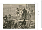 The Execution of Louis XVI by H. de la Charlerie