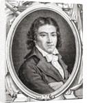 Portrait of Camille Desmoulins by Leopold Mar