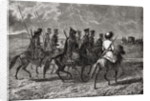 Russian Cossacks in the 18th century by French School