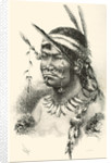 A Coreguaje, Korébahü or Koré pâín Indian from Caquetá, Colombia by Spanish School