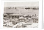 View of Veracruz and the San Juan de Ulúa fort, Mexico by Spanish School